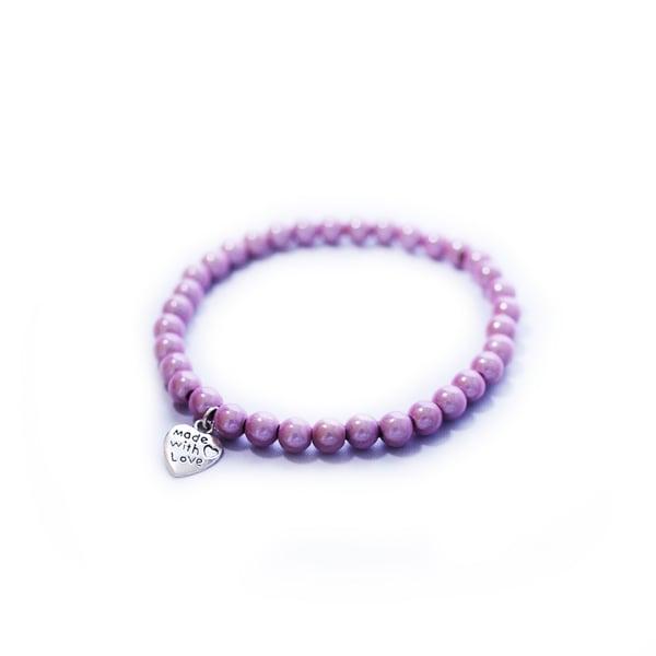 Image of Glow Bead 6mm Bracelet