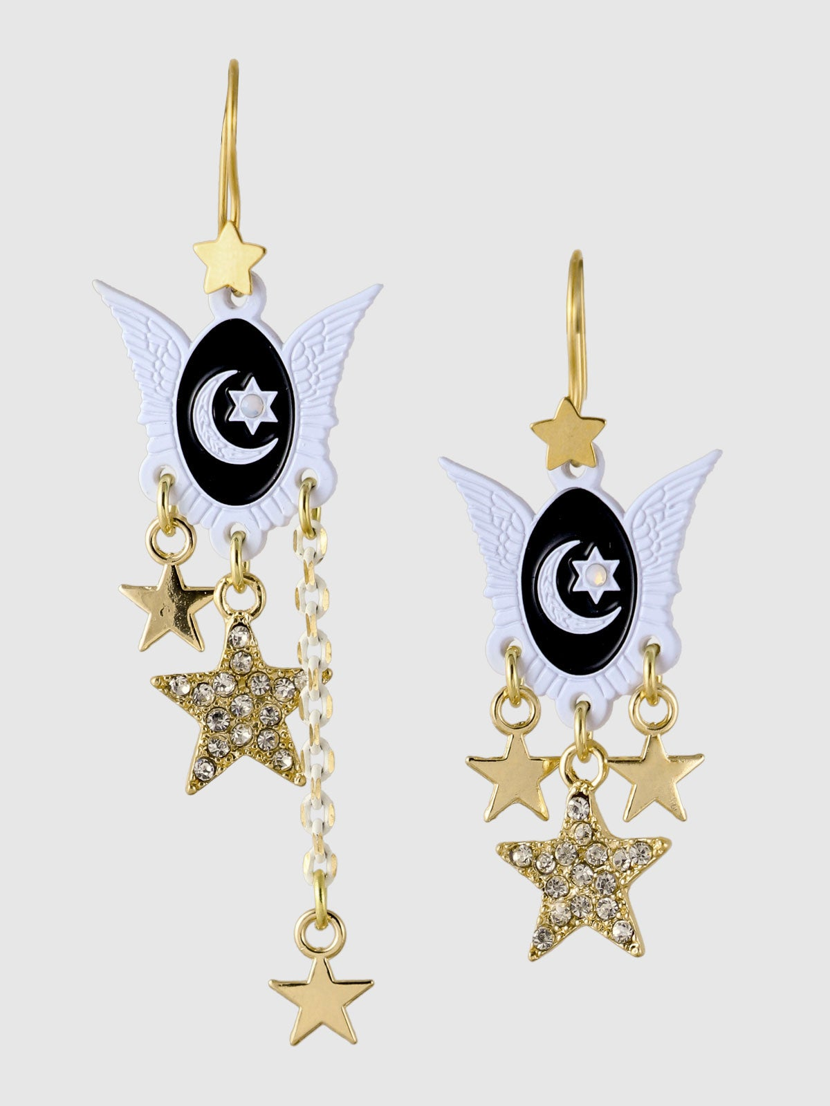 Image of Stardust Earrings • Black