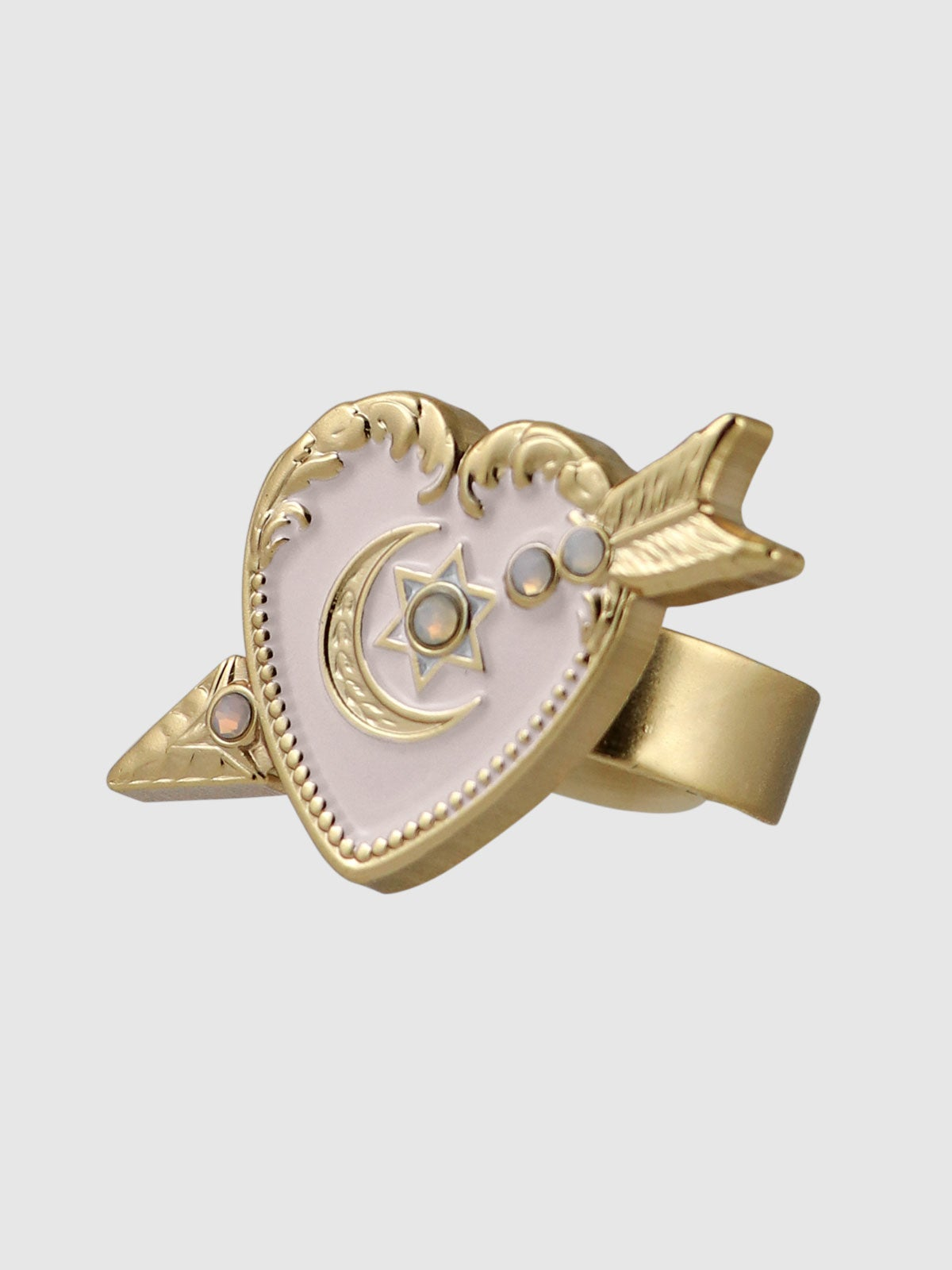 Image of Sweet Heart Ring • Pink