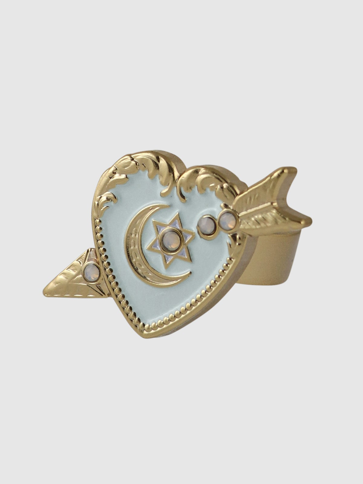 Image of Sweet Heart Ring • Blue