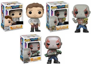 Image of Guardians of the Galaxy volume 2 Pop vinyls