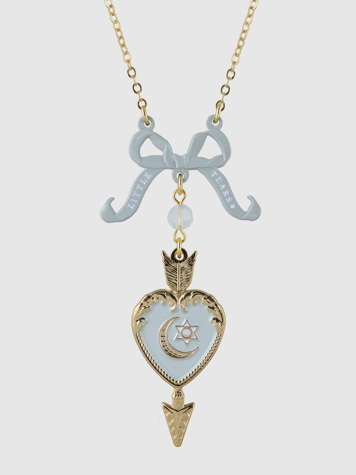 Image of Little Tears Necklace • Blue