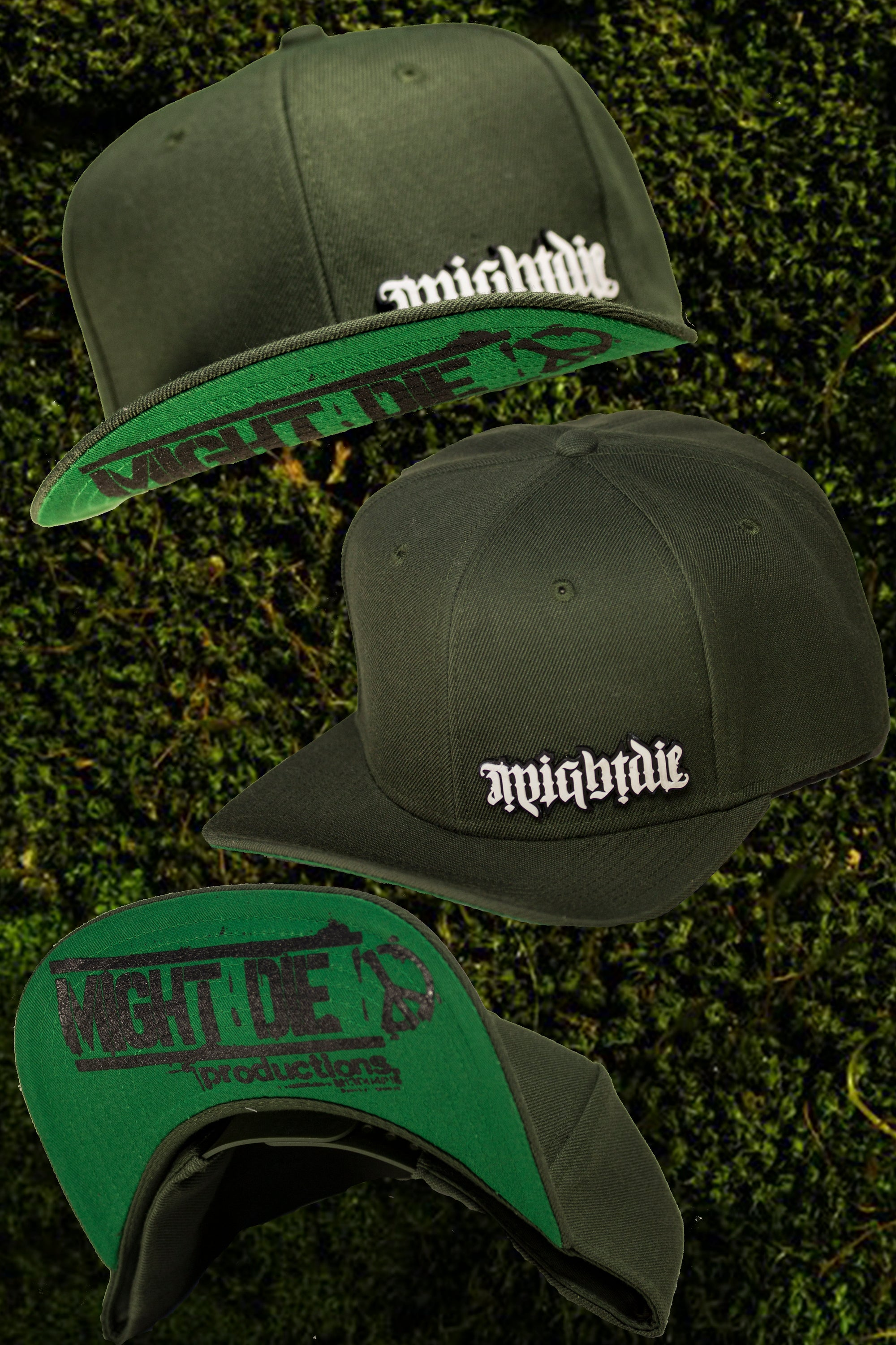 Image of MIGHTDIE13-4 Snapback Hat 63b68dd54c0