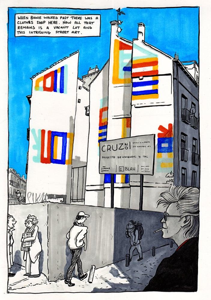 Image of Print: Calle de la Cruz, Madrid March 2017