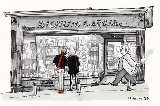 "Image of Print: ""Dionisio Garcia"", Madrid"