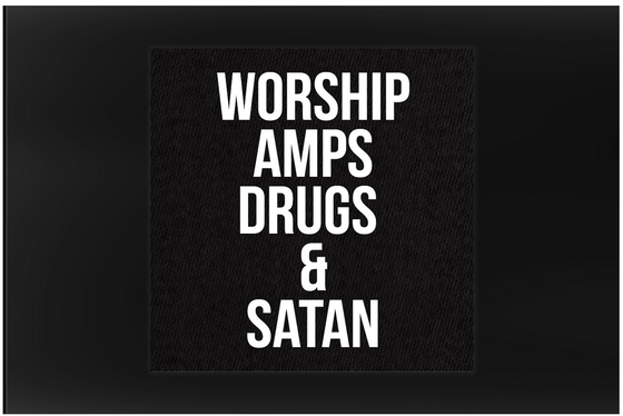 Image of Patch - Amps Drugs Satan