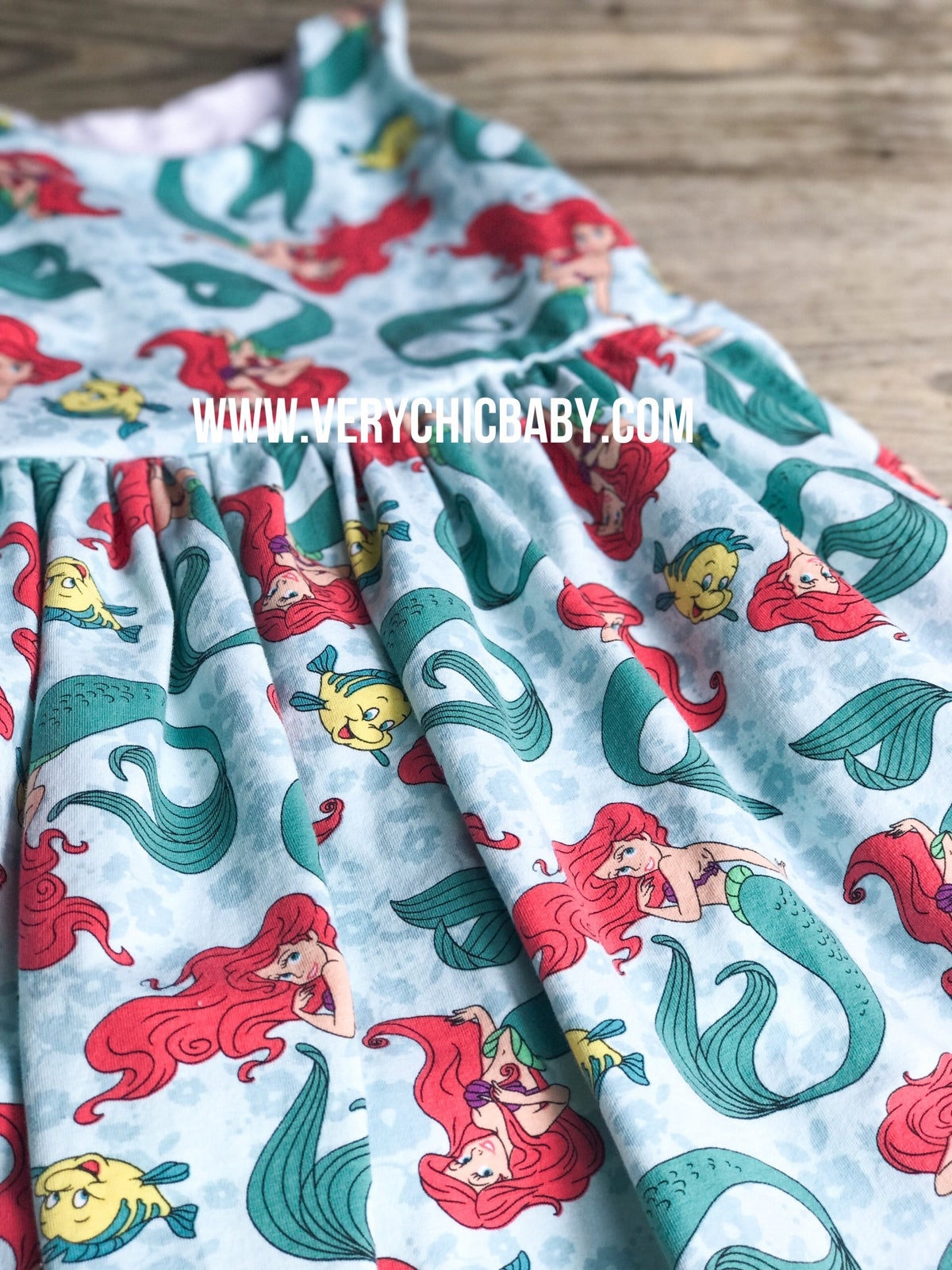 Image of Little Mermaid Knit Dress