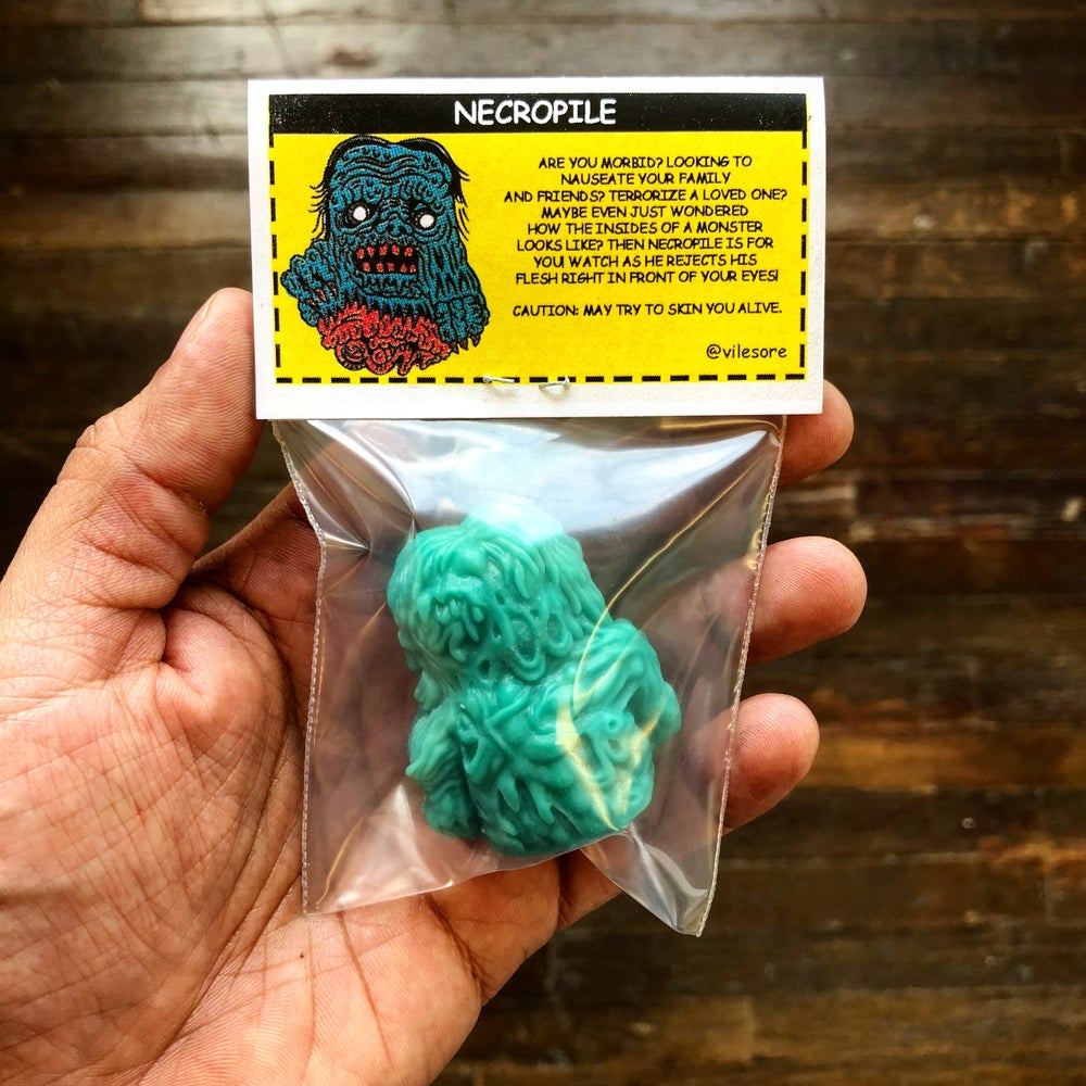 Image of NECROPILE (Terror Teal)