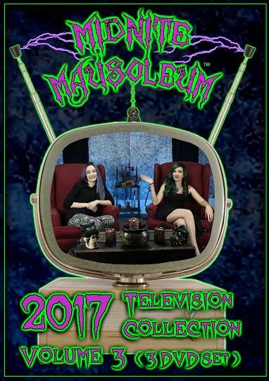 Image of Midnite Mausoleum TV2017 Volume 3 (3 DVD Set)