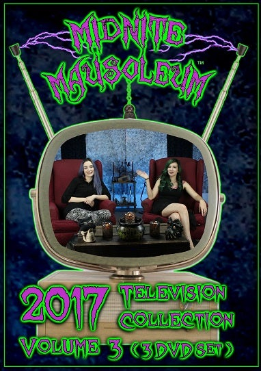 Image of Midnite Mausoleum TV2017 Volume 3 (3 DVD Set)