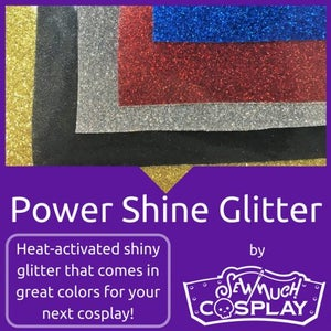 Image of Power Shine Glitter Iron On Vinyl