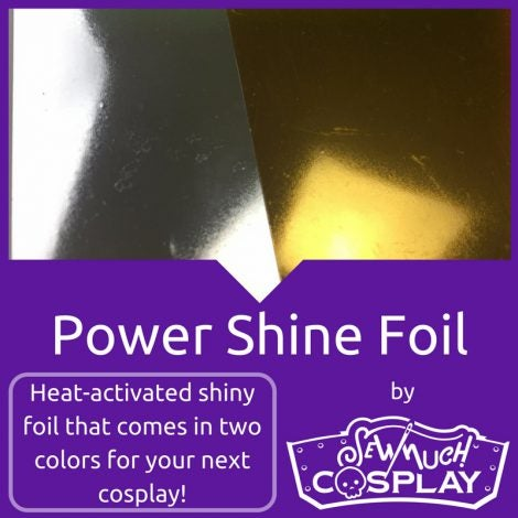 Image of Power Shine Foil Iron On Vinyl