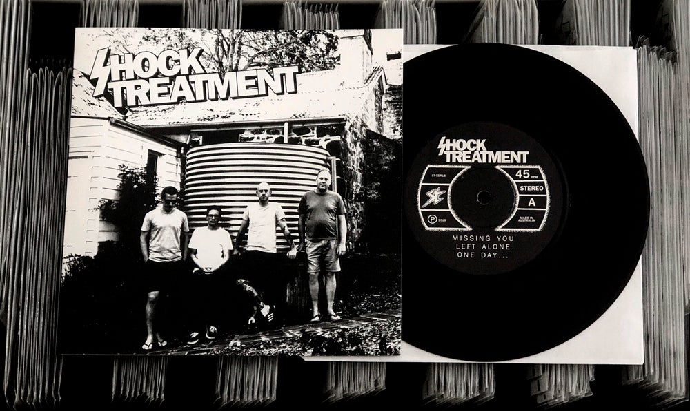 Image of SHOCK TREATMENT - S/T 7""