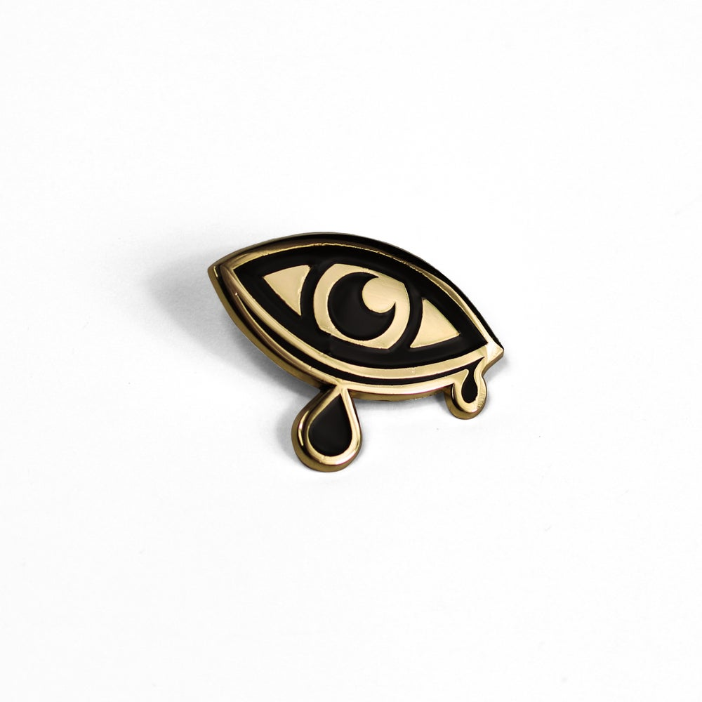 Image of Crying Eye Pin