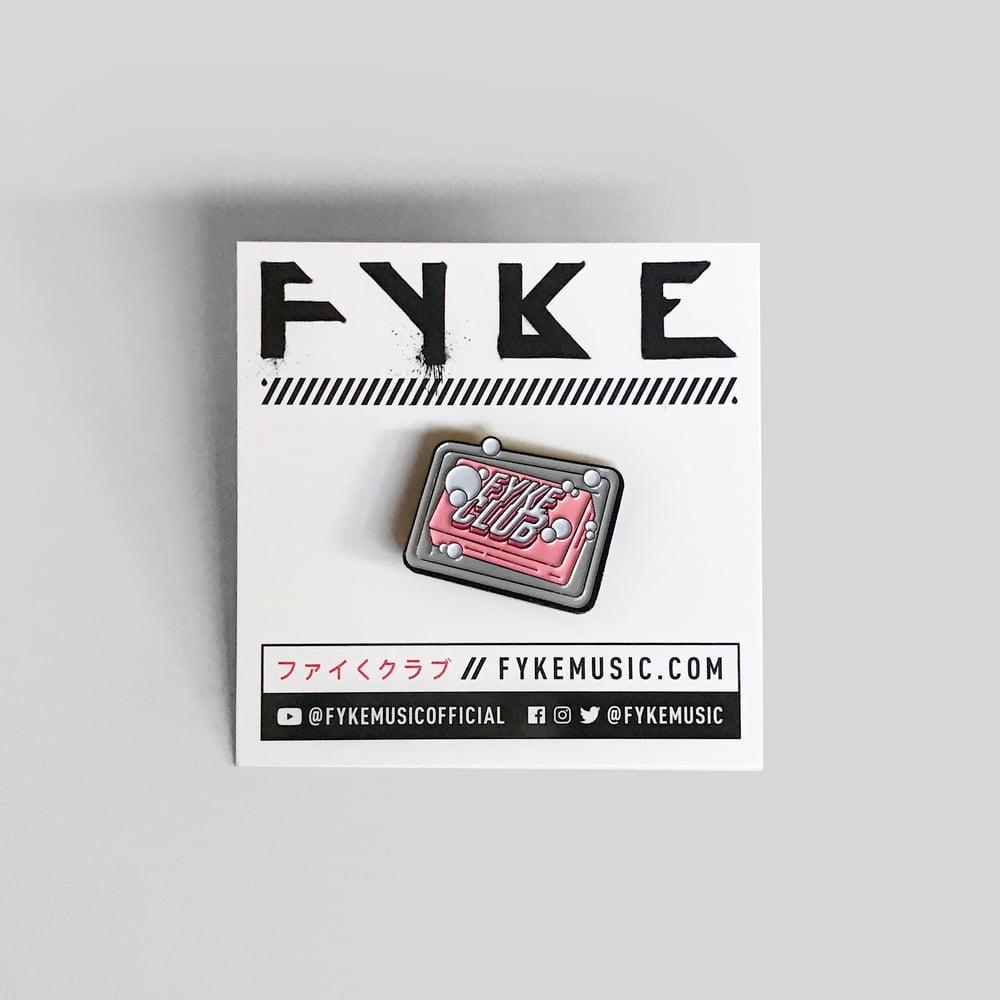 Image of FYKE CLUB ENAMEL PIN