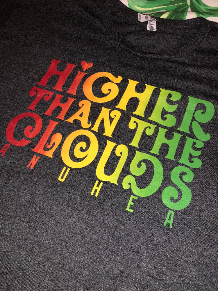 Image of Higher Than the Clouds RYG Gradient Tee
