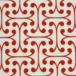 Image of Cherry Atticus Organic Cotton Fabric