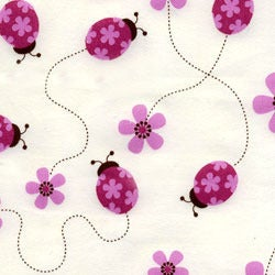 Image of Tickled Pink Organic Cotton Fabric