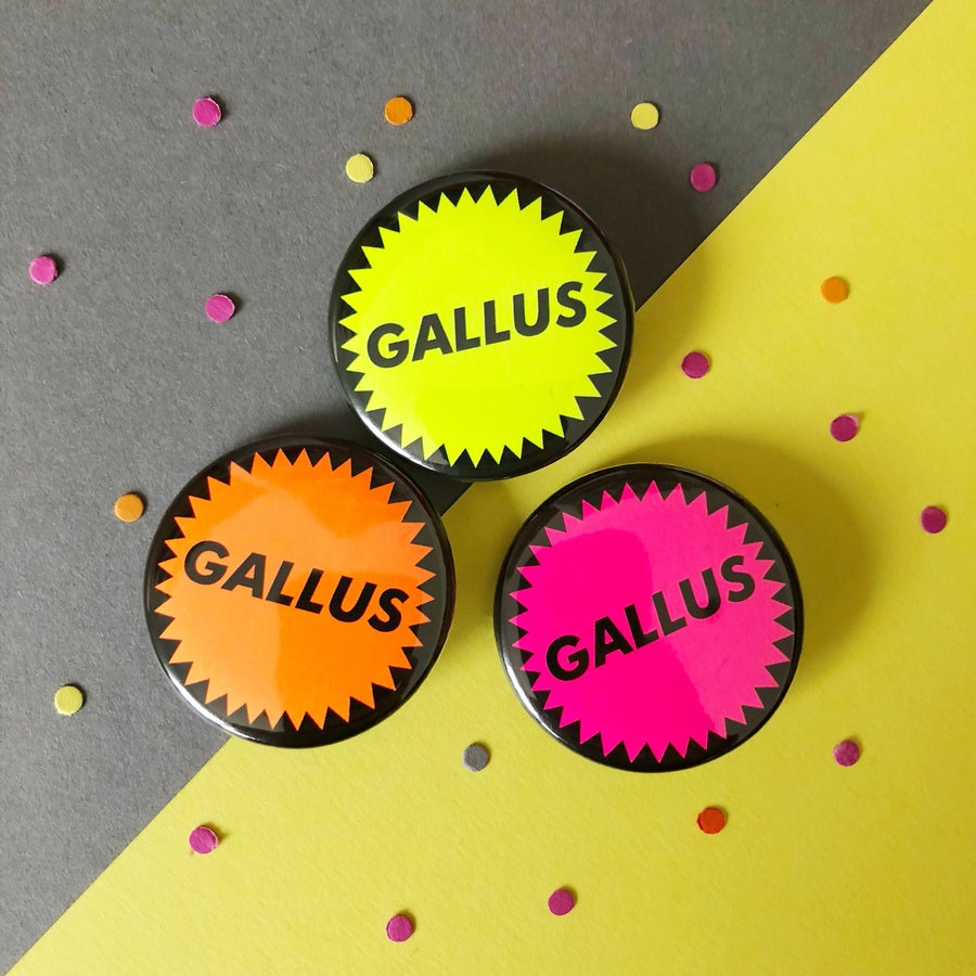 Image of Gallus badge