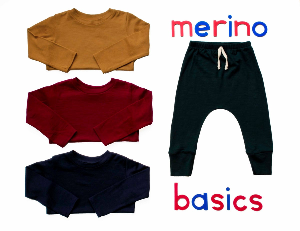 Image of Merino 'Basics range' Tops