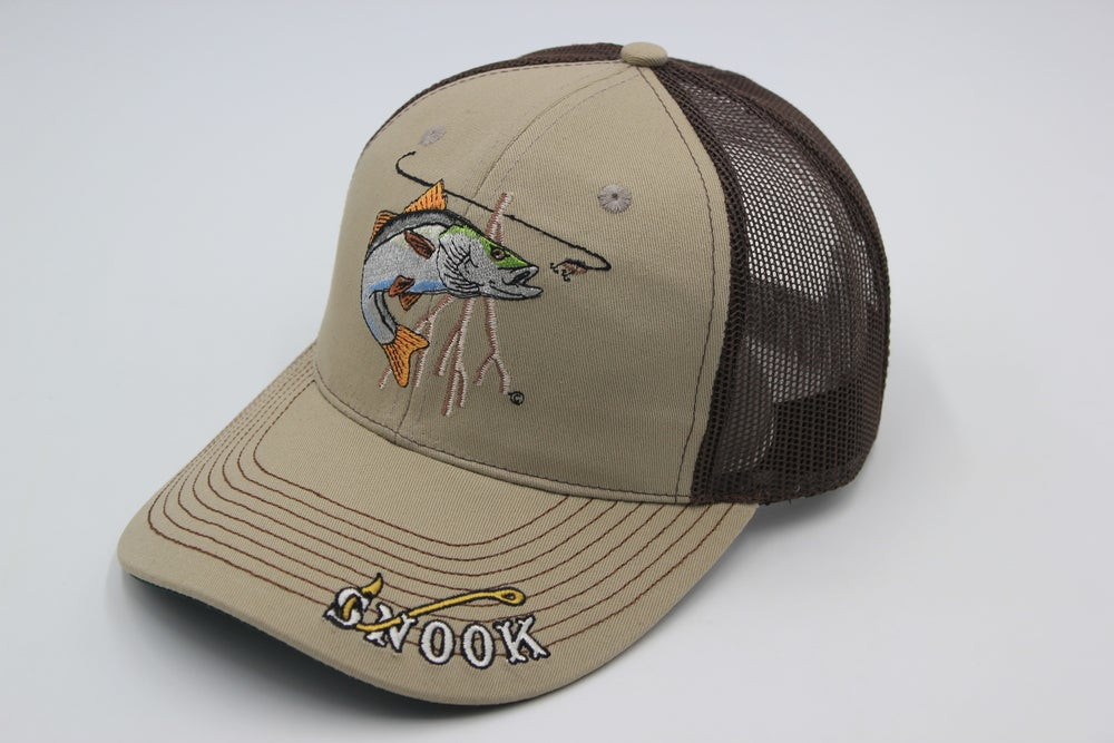 Image of Just Hook 'Em Snook Trucker Cap