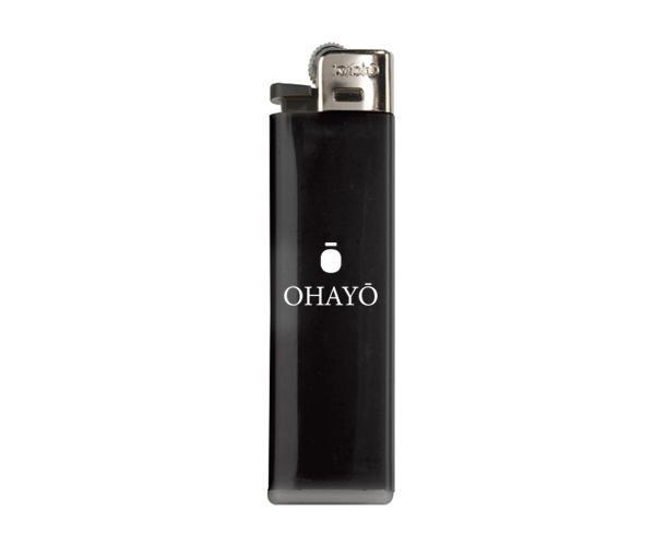 Image of Ohayō Logo Lighter - Black