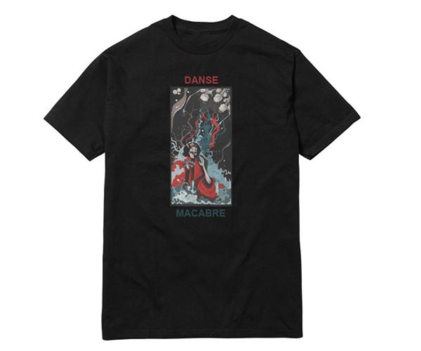 Image of Ohayō Danse Macabre Tee - Black