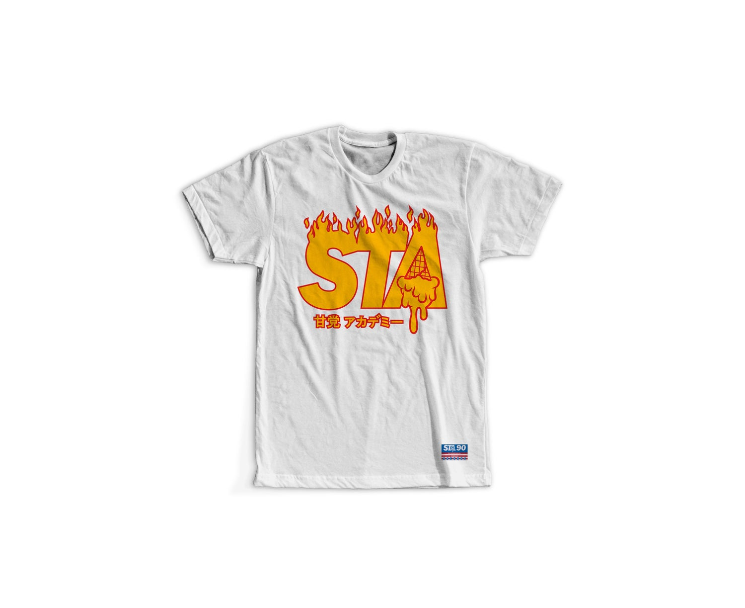 Image of STA Flame James White Tee