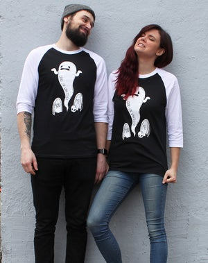 Image of 'Dead or Whatever' Raglan Shirts