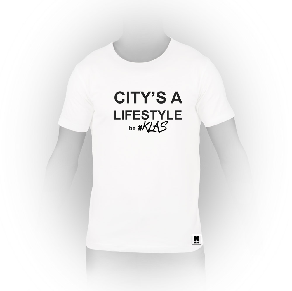 Image of T-shirt - Citys a life style KLAS