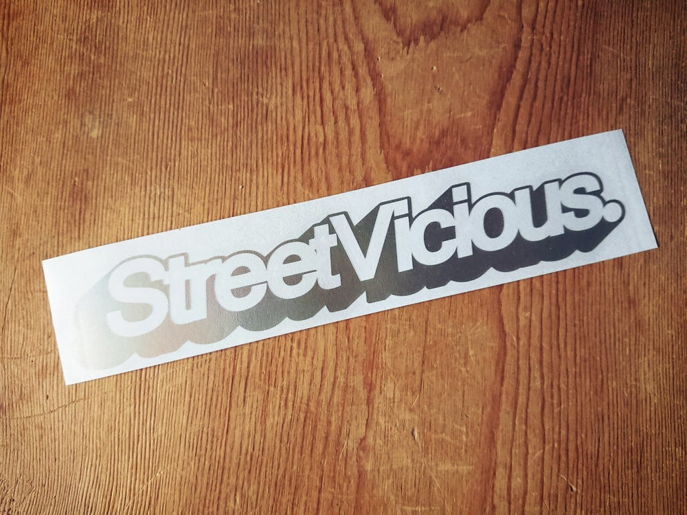 "Image of Street Vicious Simple 3D 8"" Single Colour"