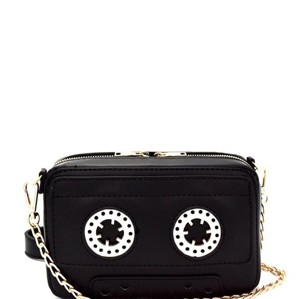 Image of Leather Cassette Clutch