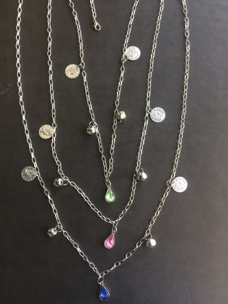 Image of Silver Belly Chain Styles 4 Colors