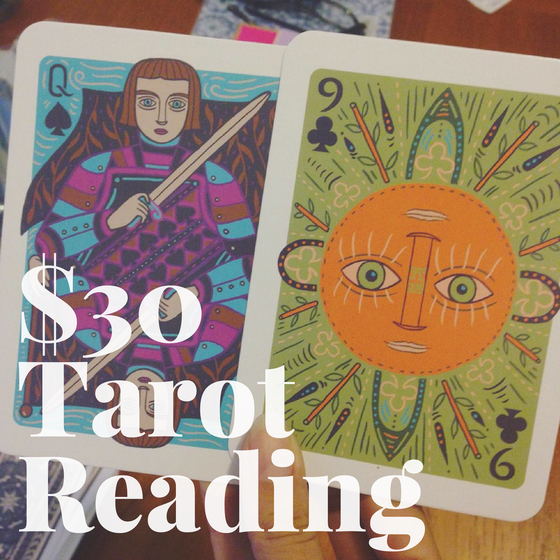 Image of $30 Tarot Reading