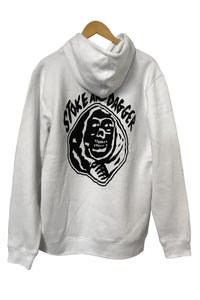 Image of STOKE & DAGGER HOODIE <br> WHITE