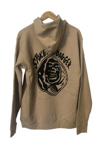 Image of ZION WETSUITS <BR> STOKE & DAGGER HOODIE <br> TAN