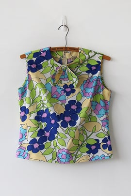 Image of Paint By Numbers Bow Blouse