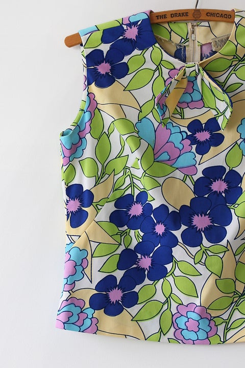 Image of SOLD Paint By Numbers Bow Blouse