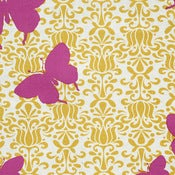 Image of Butterfly Raspberry Honey Organic Cotton