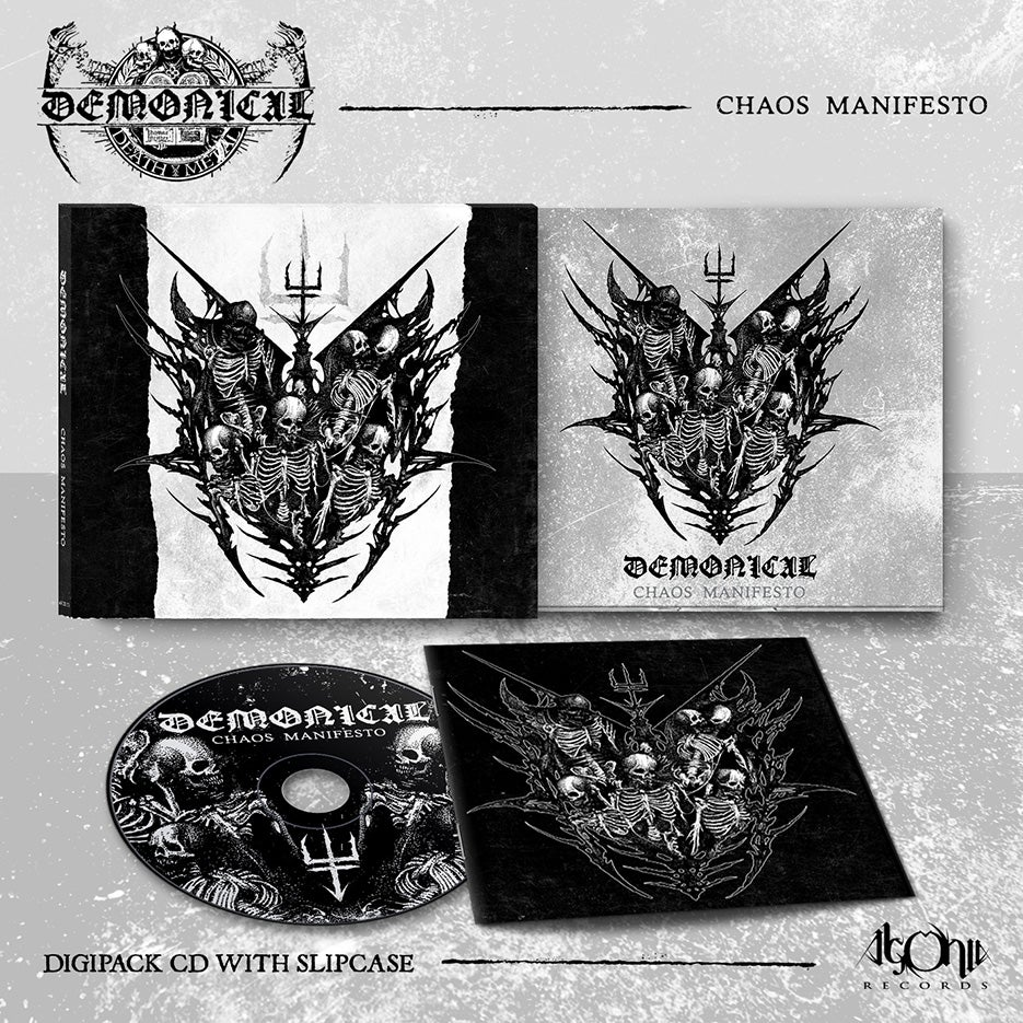 Image of Chaos Manifesto digipak-CD