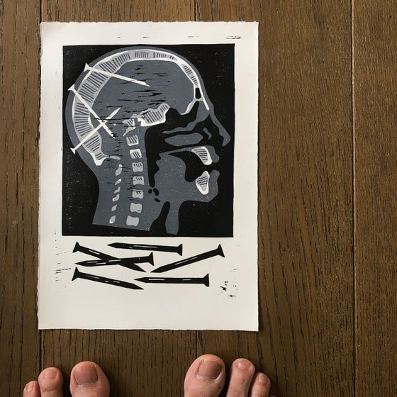 Image of HEADSTRONG (black and grey)