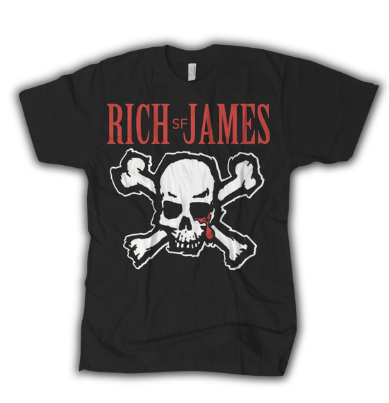Image of Rich James - Blood for Blood Tribute Tee