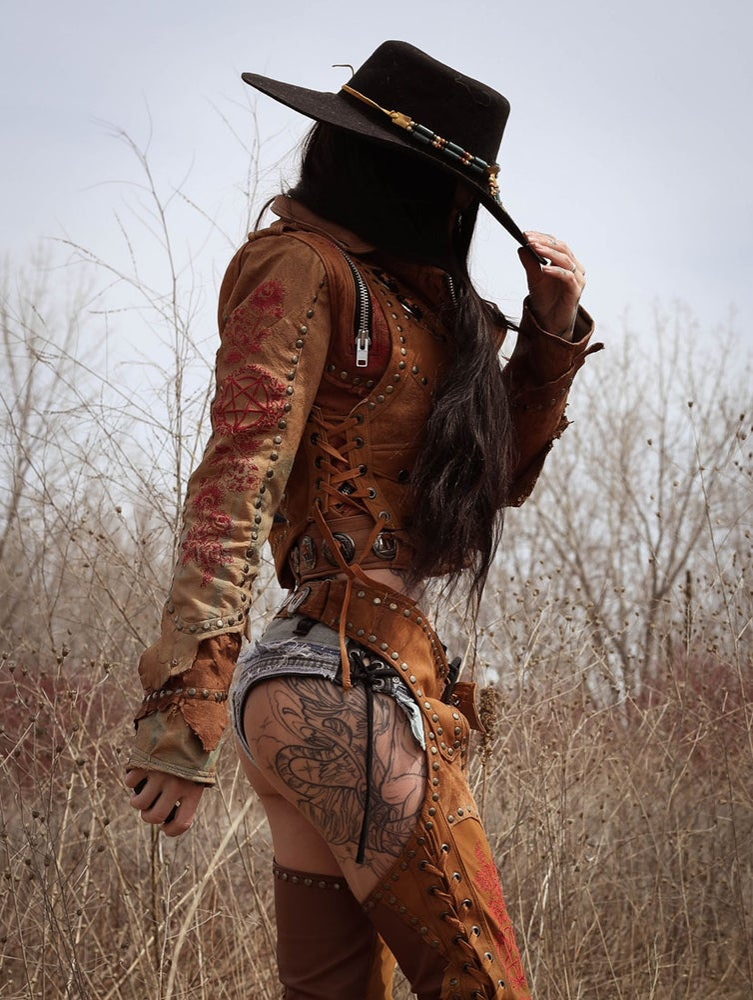 Image of TOXIC VISION gunslinger naughty pants