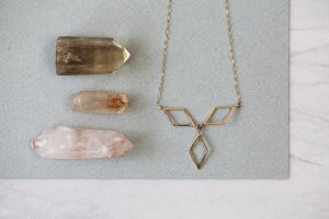 Image of *NEW* Rhombus Trilogy necklace