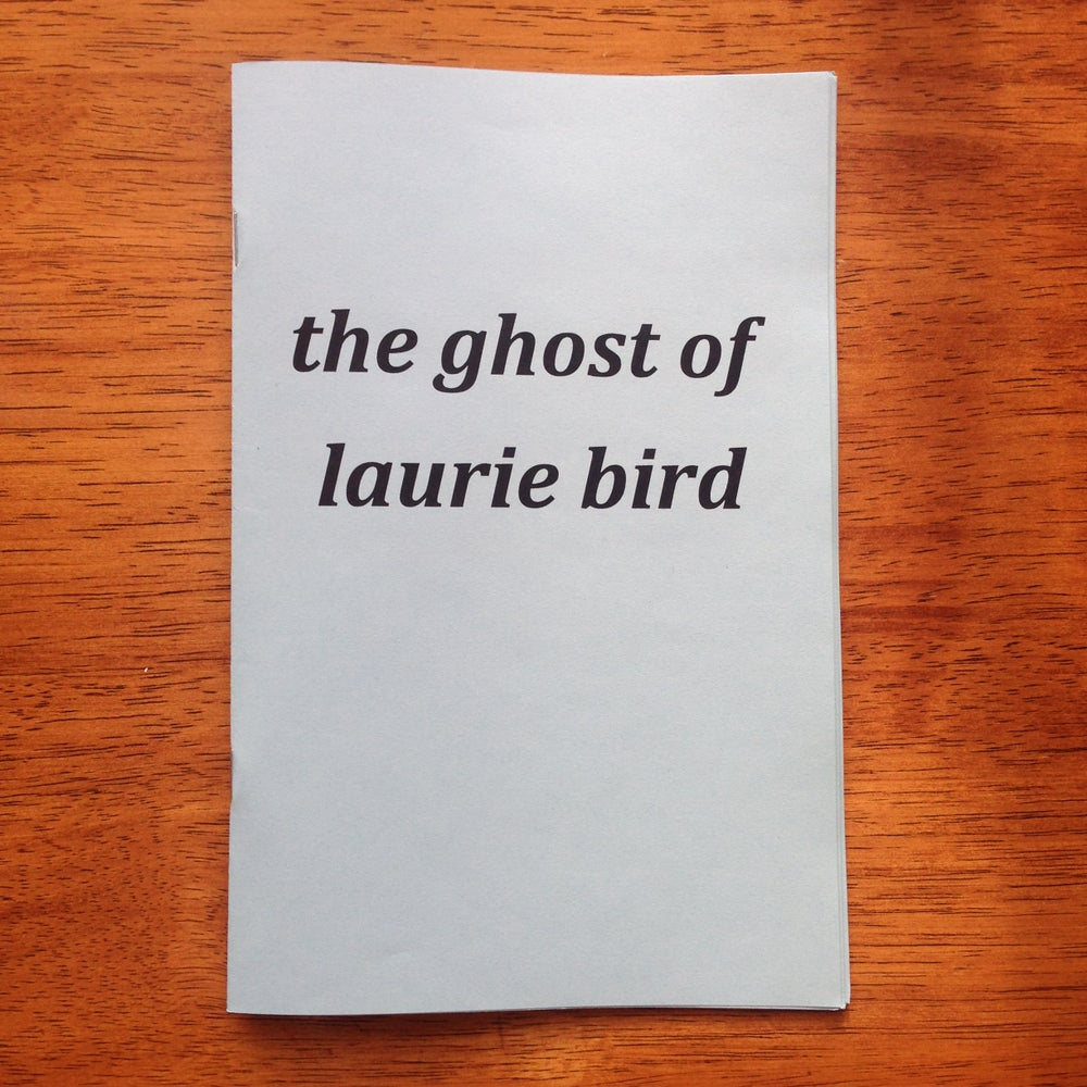 Image of the ghost of laurie bird