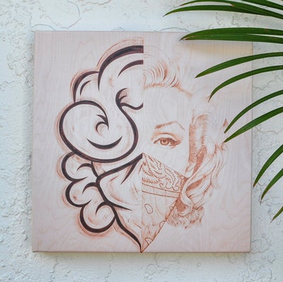 Image of limited Edition 16x16 canvas print (4 LEFT) @jayshells_ collaboration