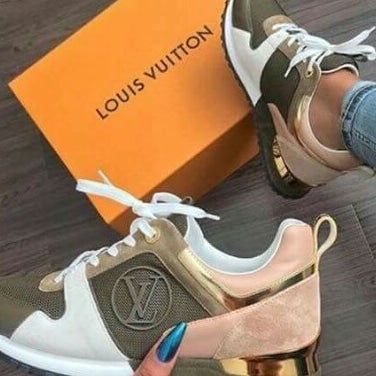 81f572747087 Image of Louis Vuitton Run Away Sneaker Monogram and Logo