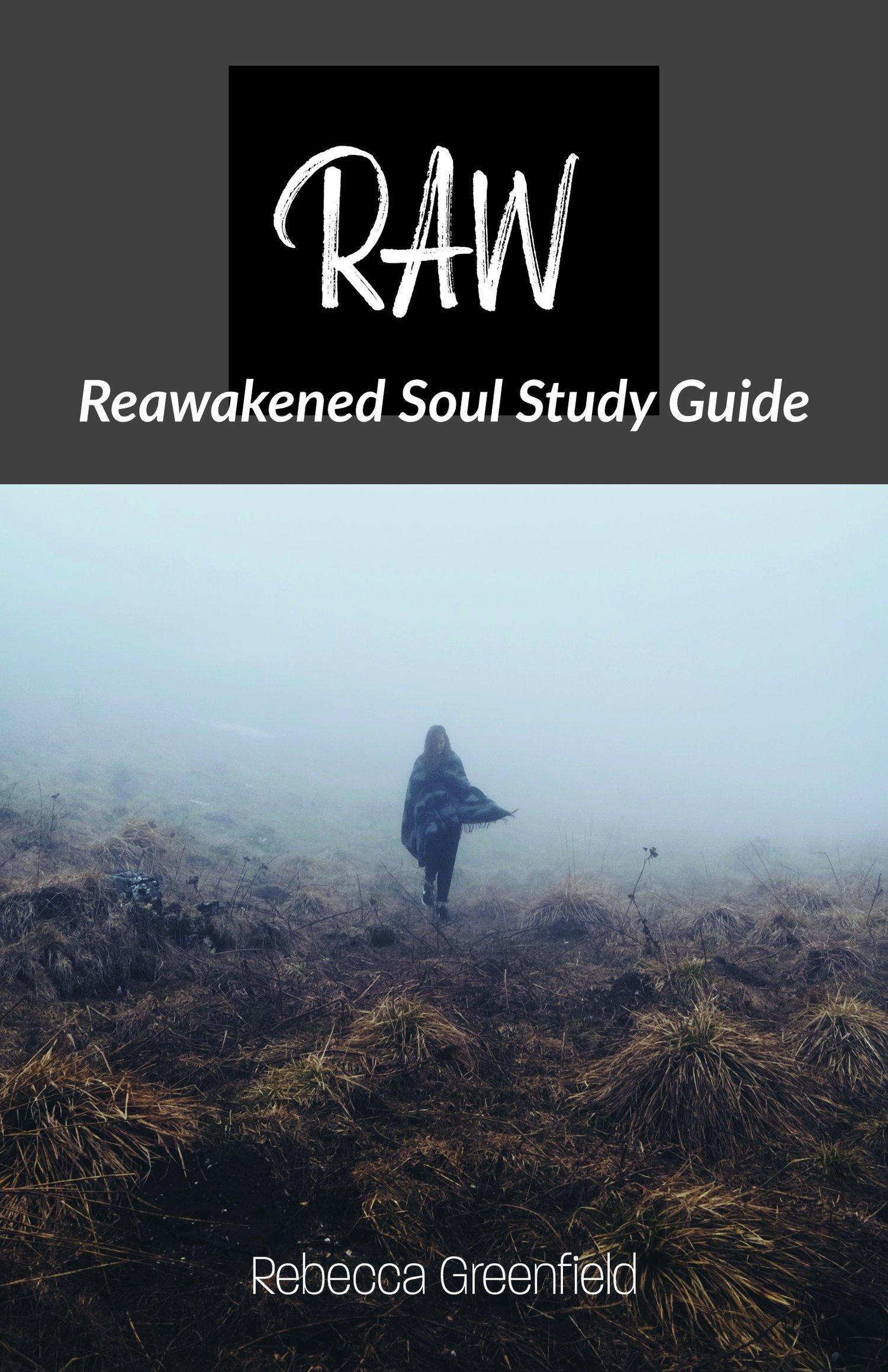Image of RAW Reawakened Soul STUDY GUIDE