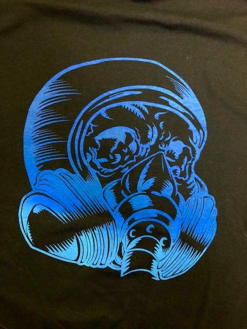 Image of PH HEAD LOGO - BLUE -SHORT SLEEV