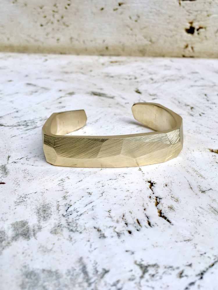 Image of Faceted Cuff